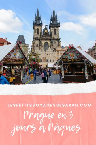 3 jours à Prague à Paques