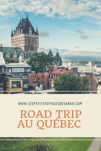 10 jours de road trip solo au Québec