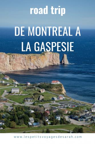 Road trip solo de Montréal à la Gaspésie
