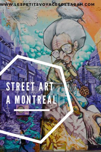 Street Art à Montréal