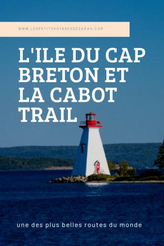 Lîle du Cap Breton et la Cabot Trail